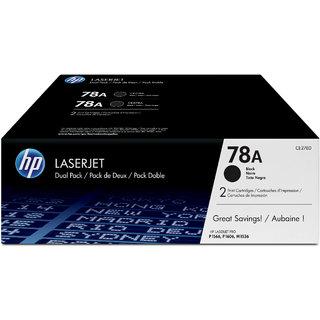 HP 78A 2-pack Black Original LaserJet Toner Cartridges CE278AF