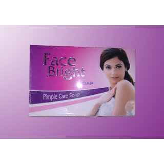 Face Bright Pimple Care Soap ( Pack of 10 )