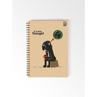 Utpatang - Green Thought Environment - A5 Ring Bound Notebook