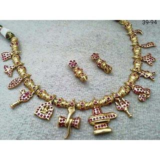 Antique Shiva Necklace Set