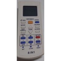 Compatible Panasonic E-ion Air Conditioner AC Remote Control NO.00A2900