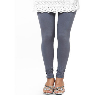 Caris Gray Cotton Leggings CCL004
