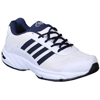 Allen Cooper AC-41 White Navy Men's Sport Shoes