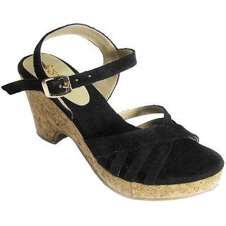 Black Delights Black Heels