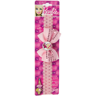Barbie Pink Bow Hair Band For Kids