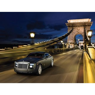 Rolls Royce Phantom Car Poster