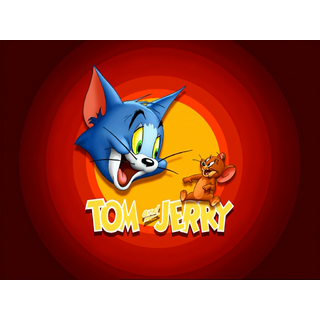 Tom and Jerry Logo Poster