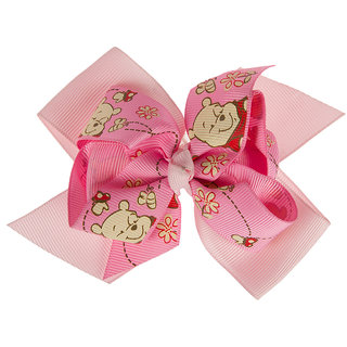 Disney Pink Bow Hair Clip For Kids