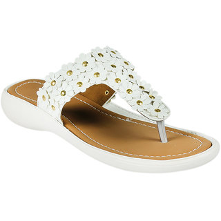 Maayas Women KBSS 25 White Sandal