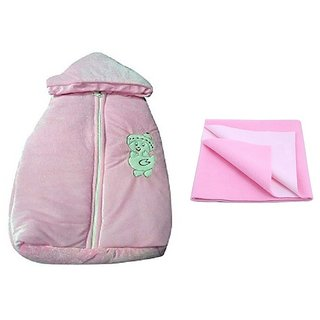CHHOTE JANAB BABY SLEEPING BAG WITH DRY SHEET (M)
