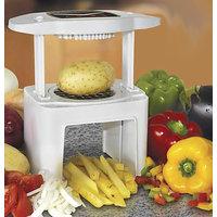 Veg O Matic Vegetables Slicer Multi Chopper Fruit Slicer Dicer_H6DC16