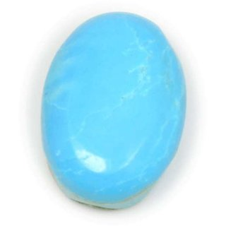 5.8 Ratti 5.25 Ct Oval Shape Natural Blue Turquoise Firoza Loose Gemstone For Ring  Pendant