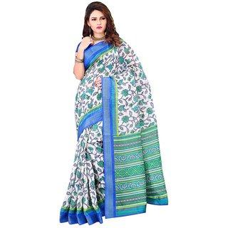 Reveka Multicolor Cotton Printed Saree