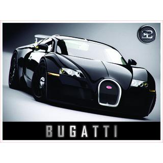 CAR - BUGATTI (18X24 INCH)
