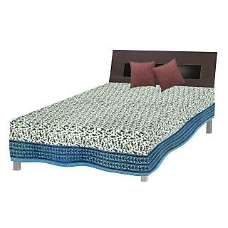 Jaipuri Single Bed Stylish Cotton Sheet /BEDCOVER SRB2038