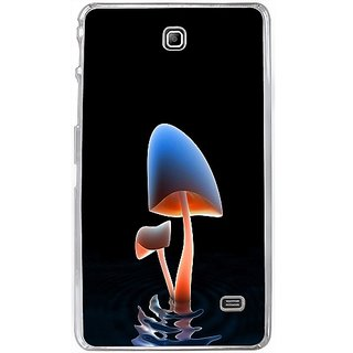 Casotec Mushroom lake Design 2D Hard Back Case Cover for Samsung Galaxy Tab 4 7 inch - Clear