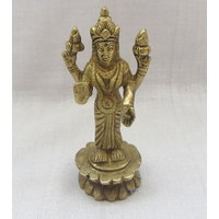 Devi Laxmiji Brass Statue,Religious God Idol For Pooja,Statue For Puja