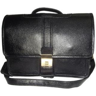 100GENUINE Soft Fine Milled Leather new Office Messenger Bag Laptop Bag BL 16