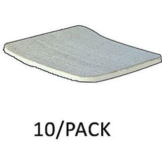 Dyna AgFix Foam Hydrophilic Foam Silver Pad (Non-Adhesive) 5cmx5cm (10/Pack)