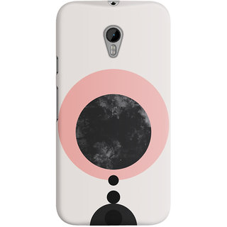 The Fappy Store CIRCLES PATTERNS  Back Cover for Moto G3