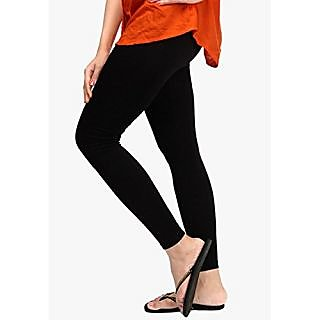 Mahaprabhu Gar. Womens Cotton Legging (Free Size - 26 inches to 34 inches waist size)