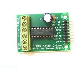 Buy L293d Dual Motor Driver H-BRIDGE Module/Board for