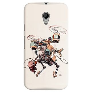 The Fappy Store aerobatic support piggie copter  Back Cover for MotoG3