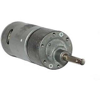 12v DC RS-37-555 Side Shaft Gear, Geared Motor - 60 rpm