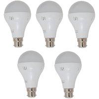 5 watt LED bulb pack of 5 nos.
