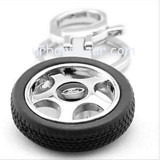 Buy Ford Wheel Tyre Keychain Car Bike Logo Key Chain Online - Get 64% Off 0089705a3027