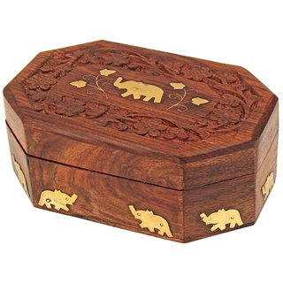 Handmade Wooden Jewellery Box for Women