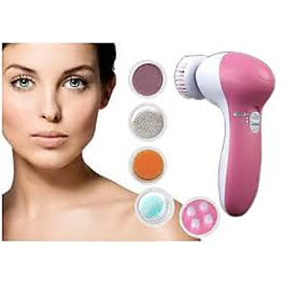 5 IN 1 MULTIFUNCTIONAL FACE MASSAGER FACIAL BEAUTY CARE with free Shopping Bag