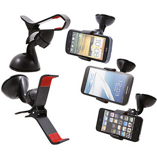 Car Mobile Stand Mount Bracket Holder Samsung and iPhone