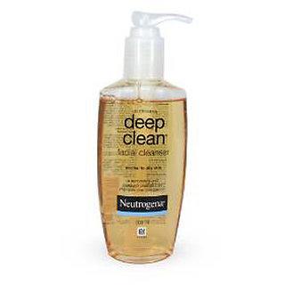 Neutrogena Deep Clean Facial Cleanser, 200ml