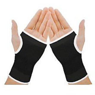 New Elastic Palm Wrist Support Grip Protection for Sports- Set Of 2 Pcs(Pair)