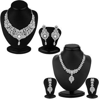 Sukkhi Luxurious 2 Piece Necklace Set Combo