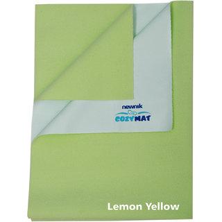 Newnik  Plain Medium Lemon Green Sleeping Mat