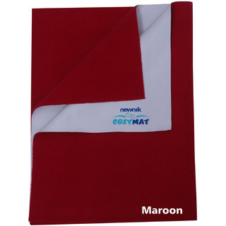 Newnik  Plain Small Maroon Sleeping Mat