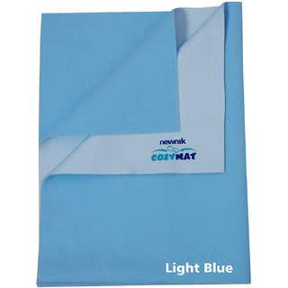 Newnik  Plain Large Sky Blue Sleeping Mat