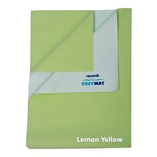 Newnik  Plain Large Lemon Green Sleeping Mat