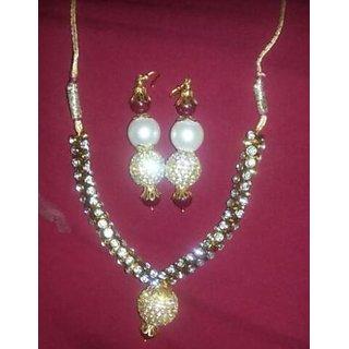 Handmade Crystal Necklace Set