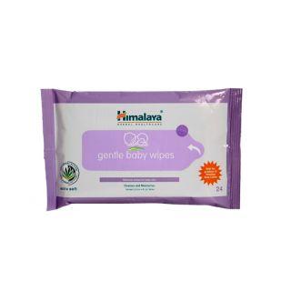 Himalaya Gentle Baby Wipes 24s-set of 3