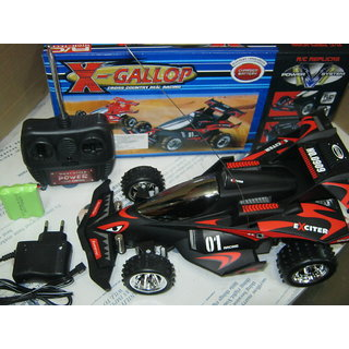 X GALLOP REAL RACING CAR -RECHARGABLE R/C CAR-REAR SUSPENSION-WITH COIL SPRING