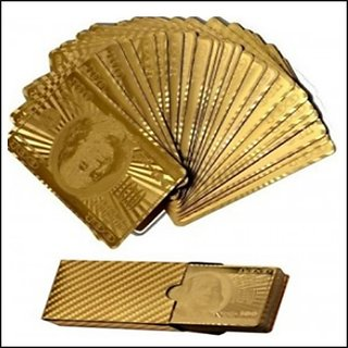 Gold Plated Playing Cards ( Special Gift) 09