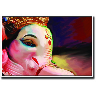 God Ganesha artistic Poster
