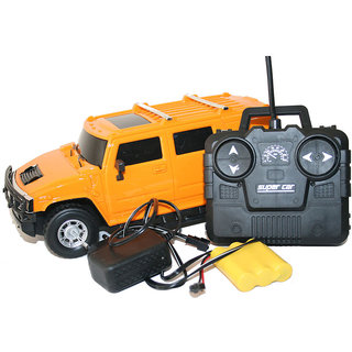 Hummer Suv Rechargeable Remote Control Car - YELLOW