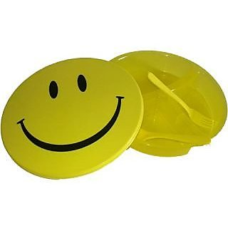 Smiley Lunch/Tiffin box for Kids - set of 2