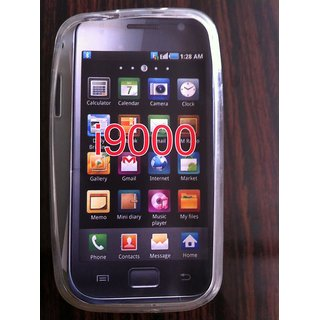 Capdase Soft Jelly Silicone Back Cover Case For Samsung Galaxy S I9000 I9008