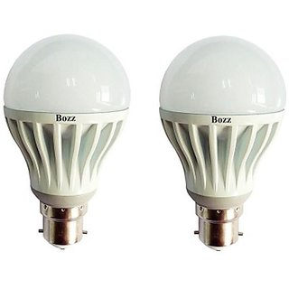 LED BULB 7W BRIGHT WHITE LIGHT LED BULB SAVING ENERGY (set of 2)
