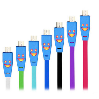 LED Light Glowing Data Cables For Mobile and ANdroid Tablet